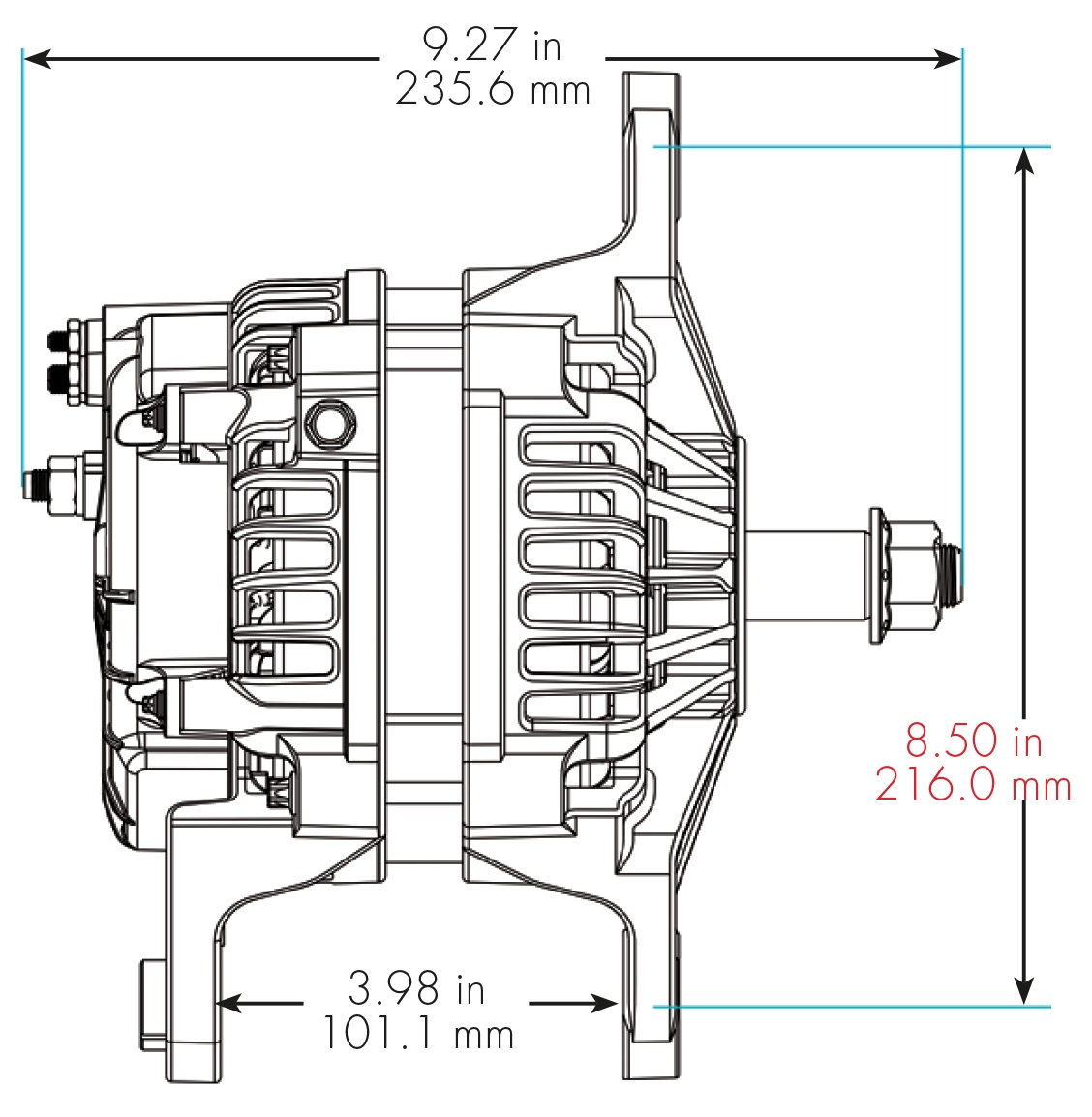 Delco Remy 8700016 Wiring Diagram Electrical Mallory Alternators 1101355 Alternator Internal Hei