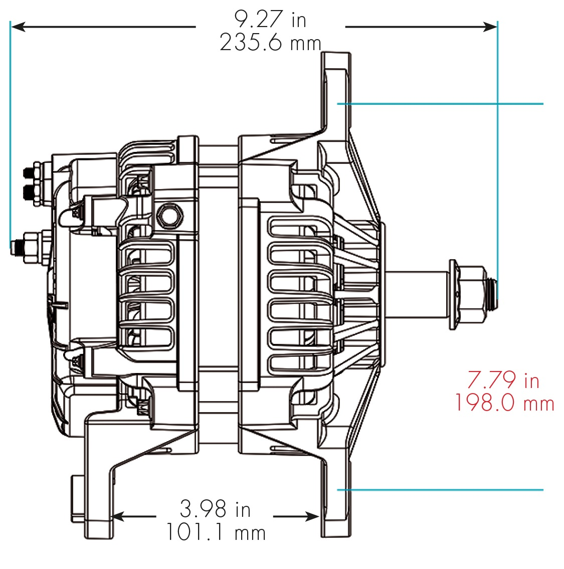 Delco 24si Alternator Wiring Diagram 50dn Alternators By Model Family Remy
